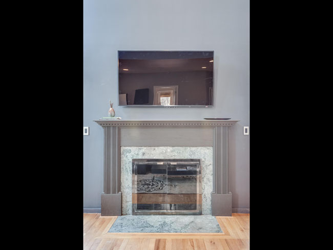 20 - family room fireplace