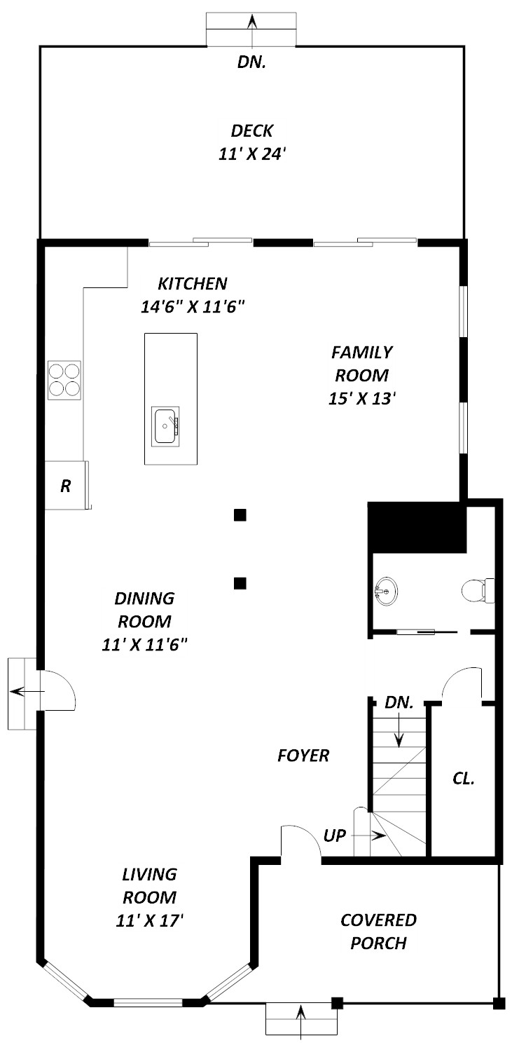 1352 Girard Street NE - floor 1