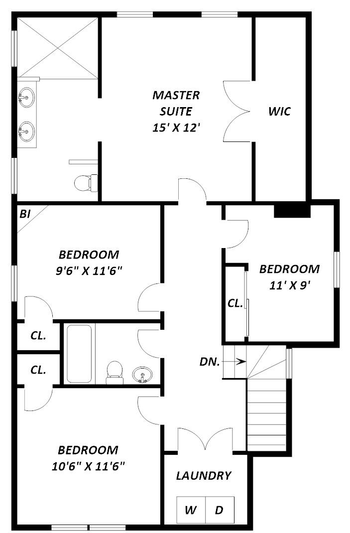 1352 Girard Street NE - floor 2